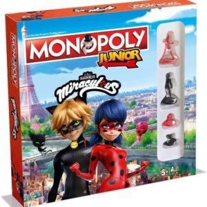 Monopoly Junior - MIRACULOUS (Versión Inglés)