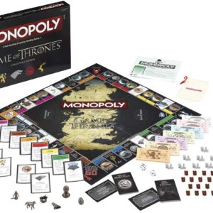 Monopoly - GAME OF THRONES (Versión en Inglés)