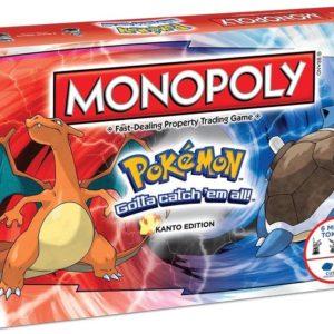 Monopoly - POKÉMON (Versión Inglés)