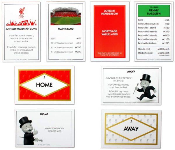 Monopoly - LIVERPOOL FC