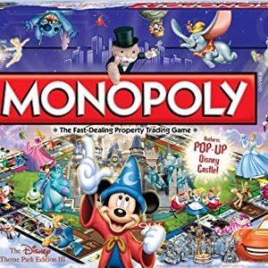 Monopoly Disney theme park edition