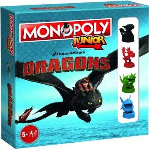 Monopoly Junior - DRAGONS (Versión Inglés)