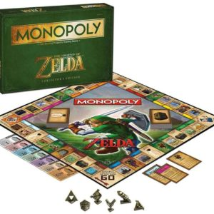 Monopoly The Legend of Zelda Collectors Edition