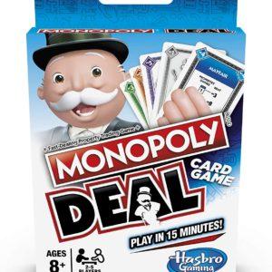 Pasa el ratón por encima de la imagen para ampliarla Monopoly- Juego de Cartas