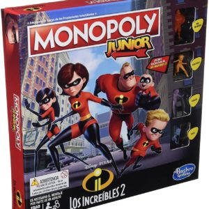 Monopoly Junior - LOS INCREIBLES 2