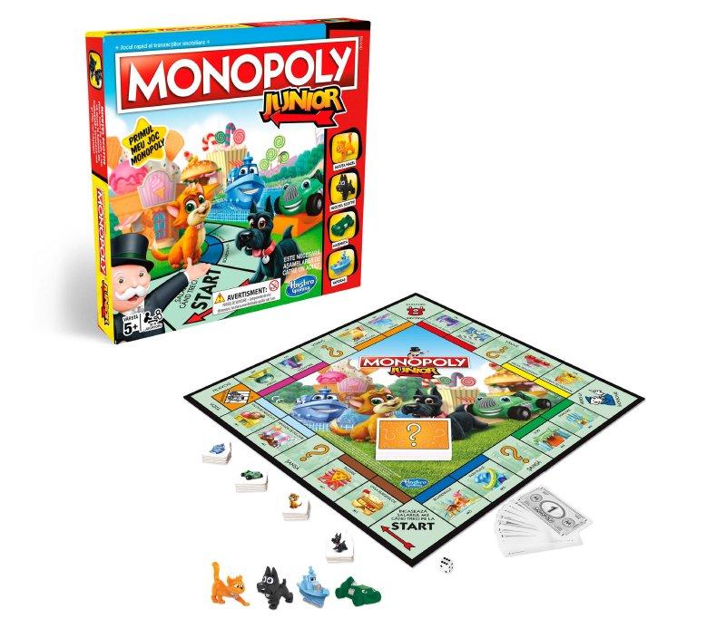 instrucciones y reglas Monopoly Junior
