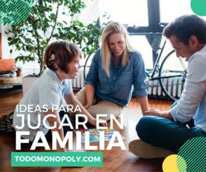 Ideas de juegos para jugar en familia